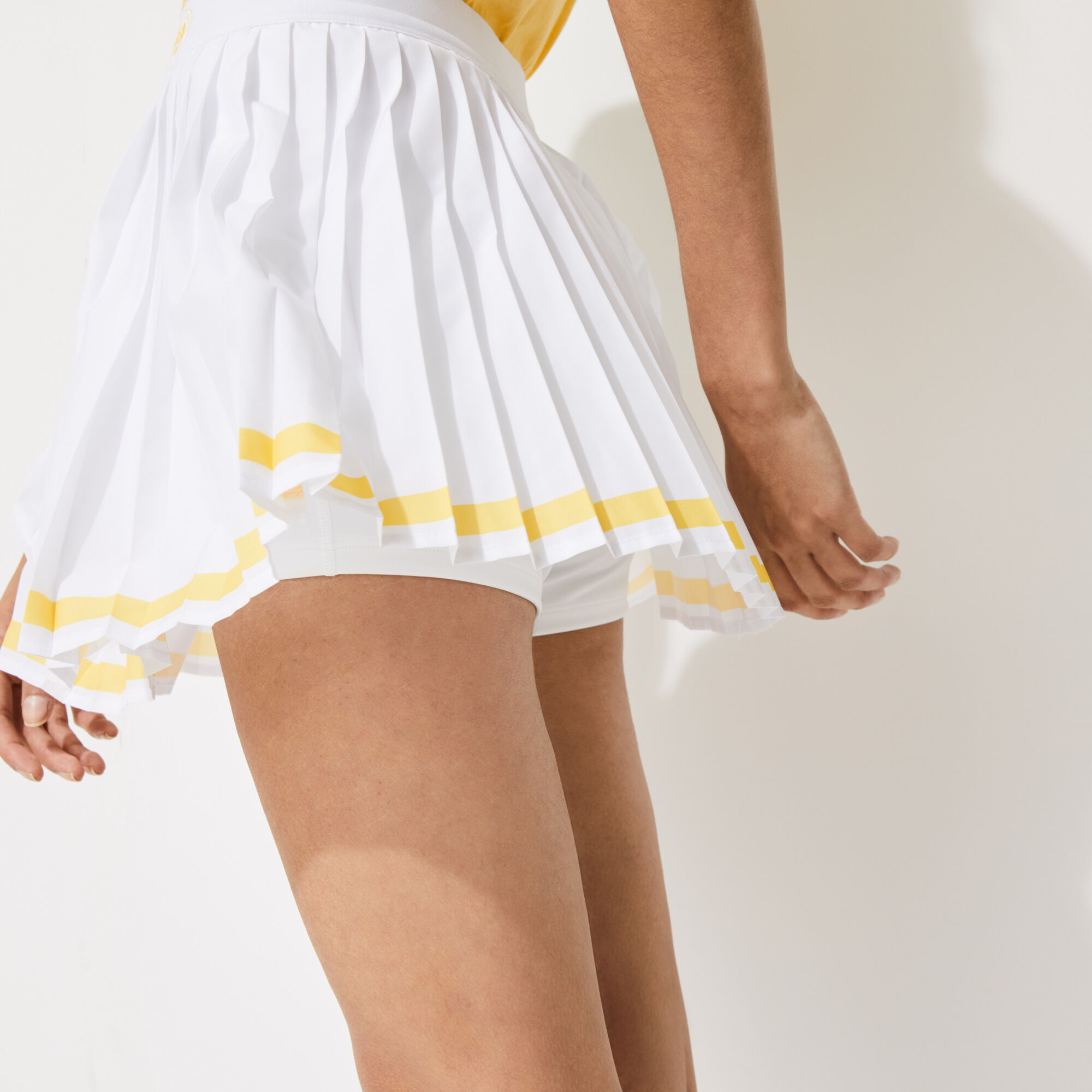 Women's Lacoste SPORT French Open Edition Pleated Miniskirt