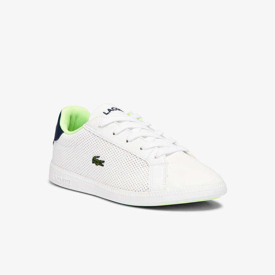 Children's Graduate Synthetic Perforated Trainers