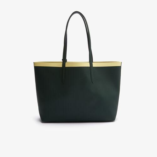 Women's Anna Removable Zip Pouch Canvas Large Shopper Bag
