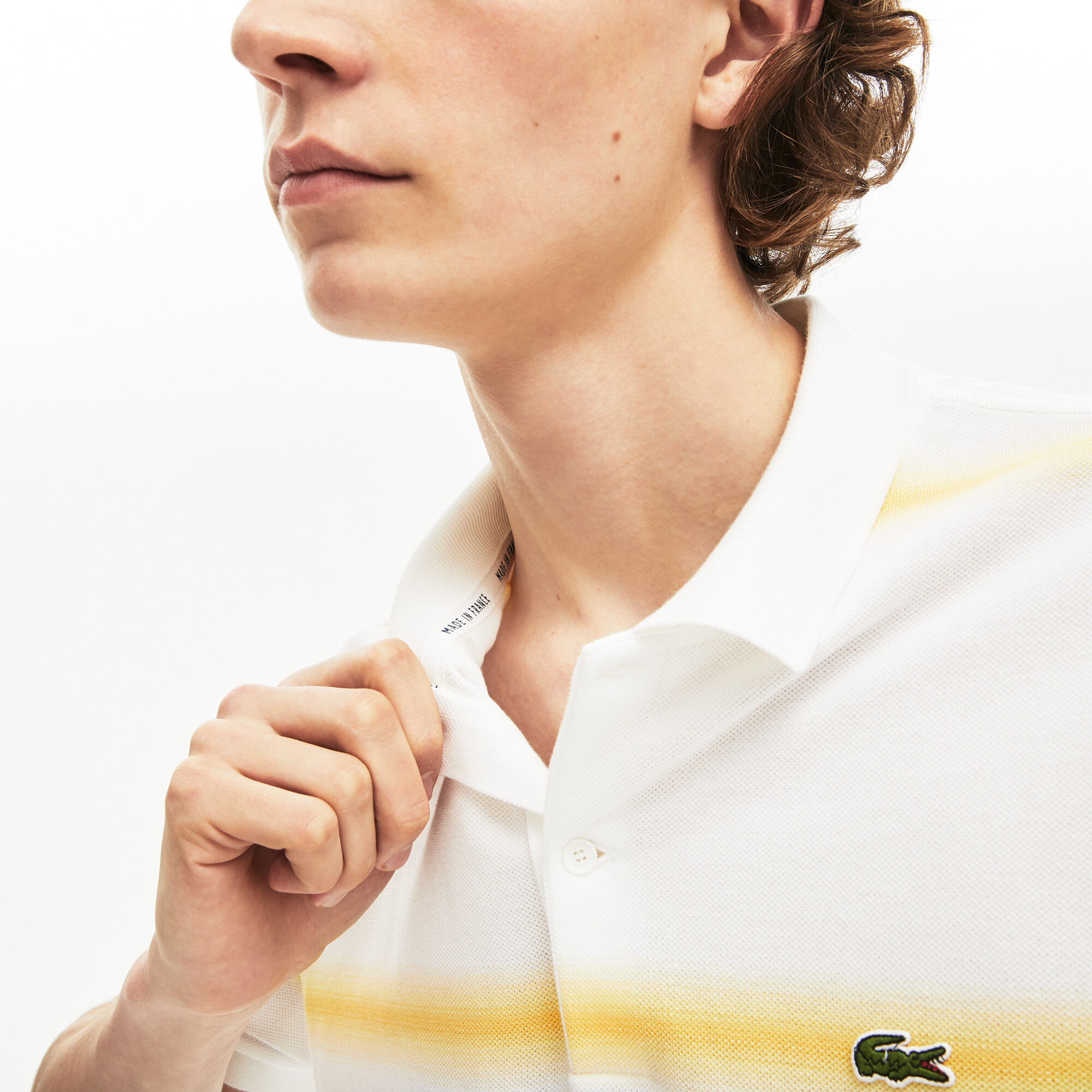 Men's Lacoste Made in France Regular Fit Cotton Piqué Polo Shirt