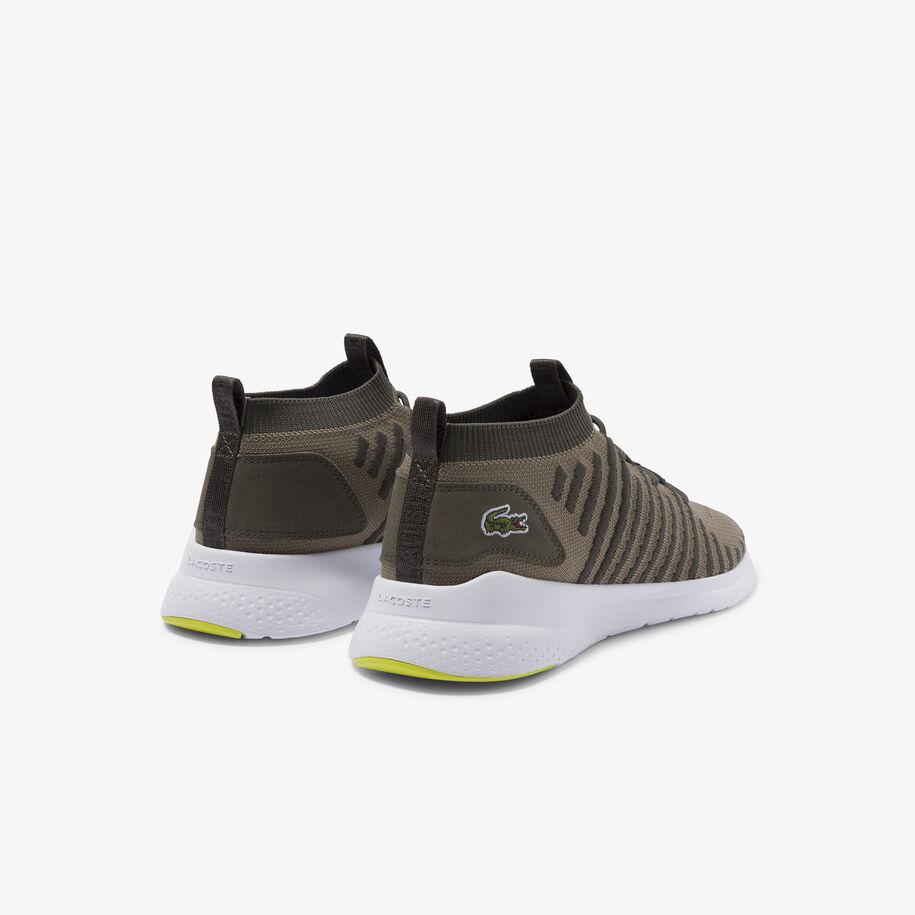 حذاء رياضي من القماش والجلد المدبوغ من مجموعة LT Fit-Flex ذات الألوان الجريئة للرجال
