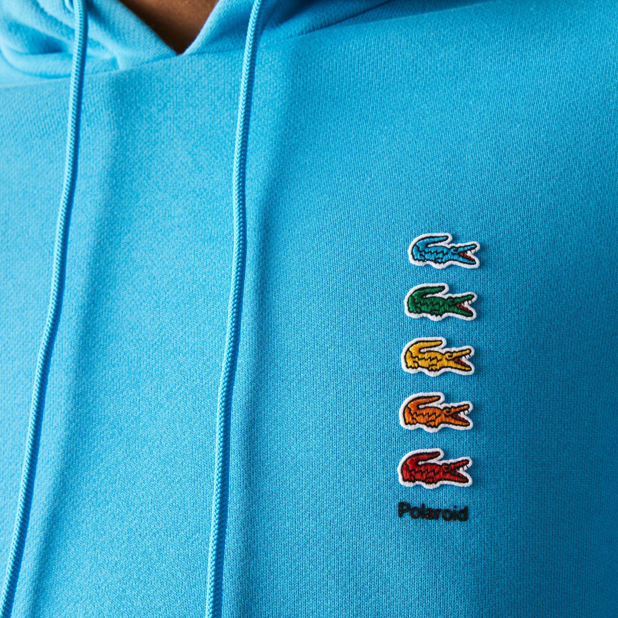 Unisex Polaroid Collaboration Cotton Fleece Sweatshirt