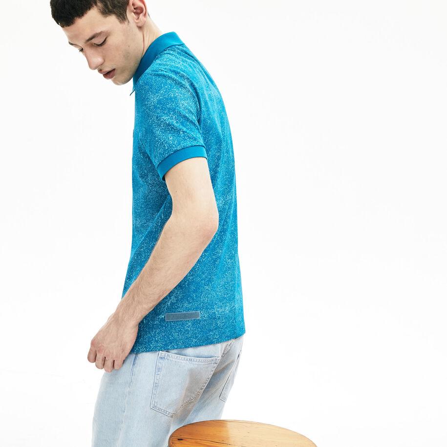 قميص بولو من البيكيه الفاخر من مجموعةLacoste Motion للرجال
