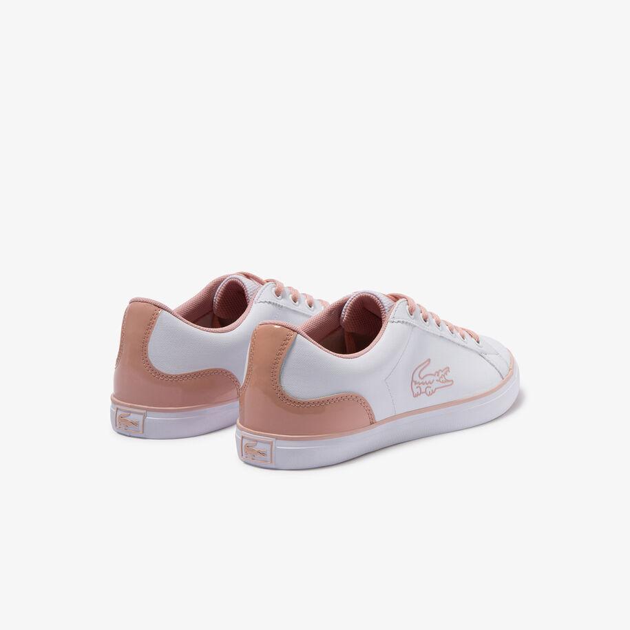 حذاء رياضي للشباب من مواد صناعية وقماش بأربطة من مجموعة Lerond