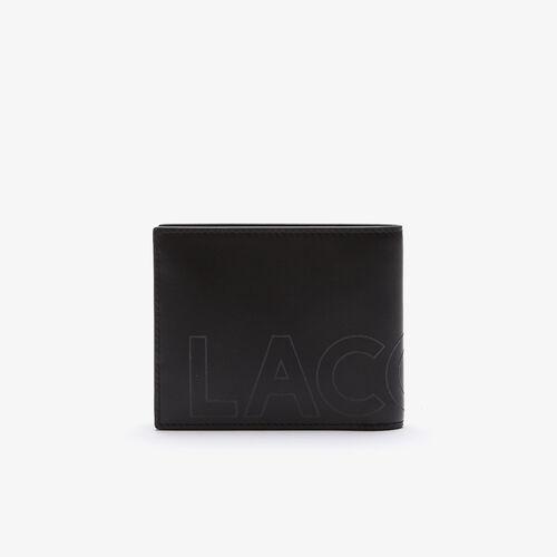 محفظة رجالية من الجلد الناعم ذات العلامات التجارية الصغيرة من مجموعة Fitzgerald