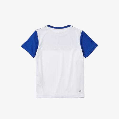 Boys' Lacoste Sport Colourblock Breathable Piqué T-shirt