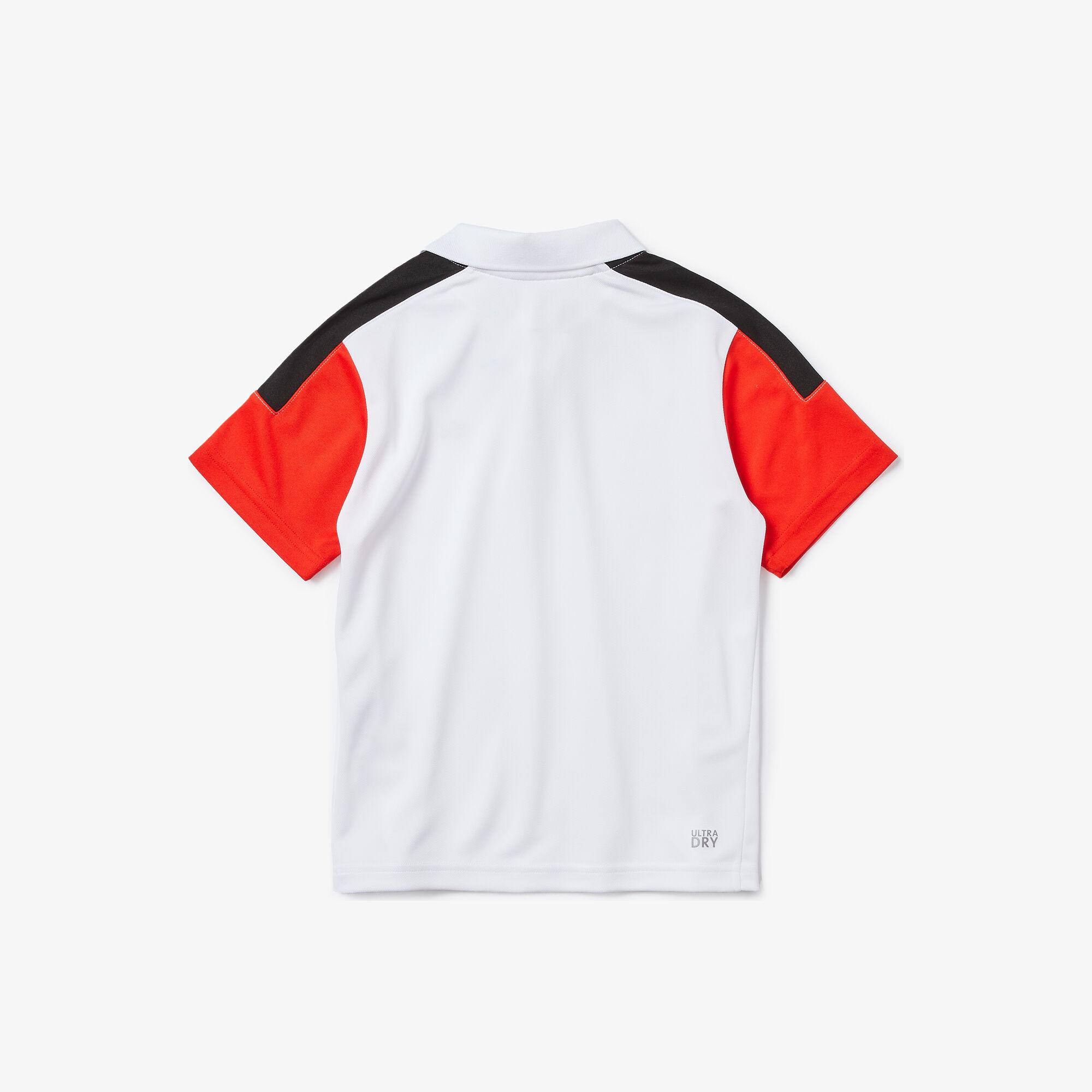 Boys' Lacoste SPORT Breathable, Run-Resistant Tennis Polo Shirt