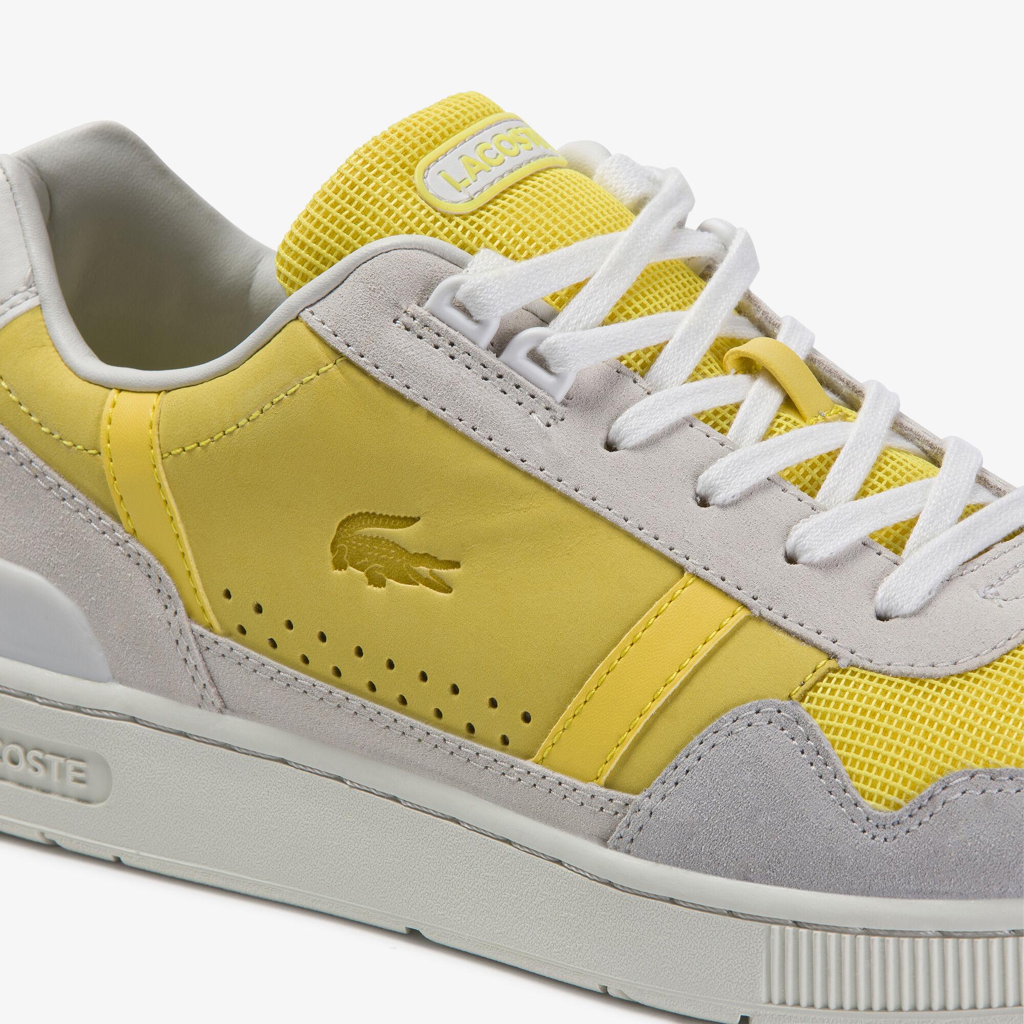 Men's T-Clip Suede Sneakers
