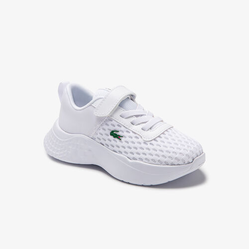 Infants' Court-drive Mesh And Stretch-knit Trainers