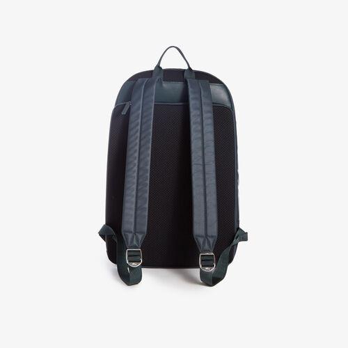 Men's L.12.12 Branded And Strap Backpack