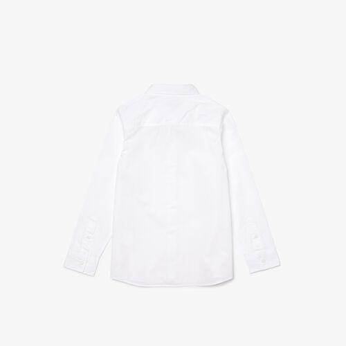 Boys' Pocket Lightweight Cotton Shirt